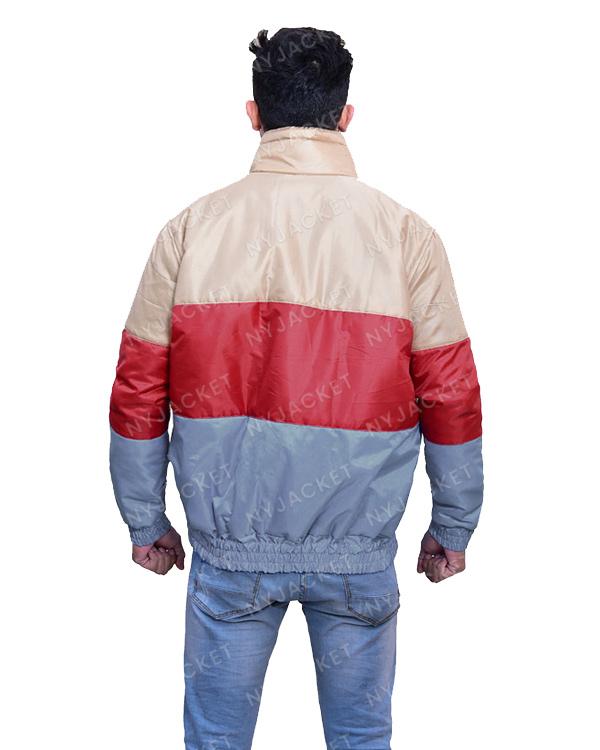 Mens Multi-Colour Satin Jacket