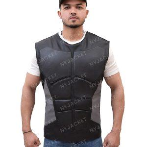 Mens Slimfit Grey Vest