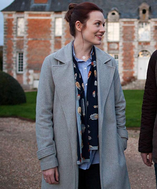 Maggie-Around-the-Sun-TV-Series-Cara-Theobold-Grey-Wool-Coat-510x600