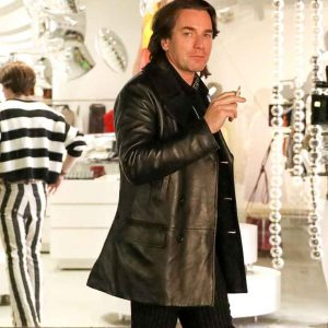 Ewan-McGregor-Black-Leather-Mid-length-Coat