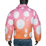 Justin Bieber Pink Jacket