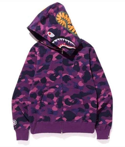 Purple-Color-Camo-Shark-Full-Zip-BAPE-Hoodie-510x600