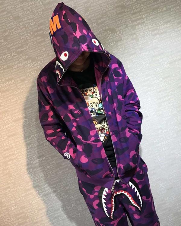 Bape-Purple-Hoodie