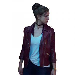 Who Killed Sara Elisa Leather Jacket