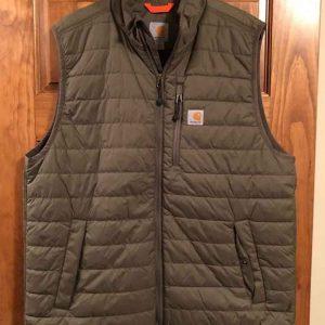 Atypical-Doug-Gardner-Khaki-Green-Puffer-Vest