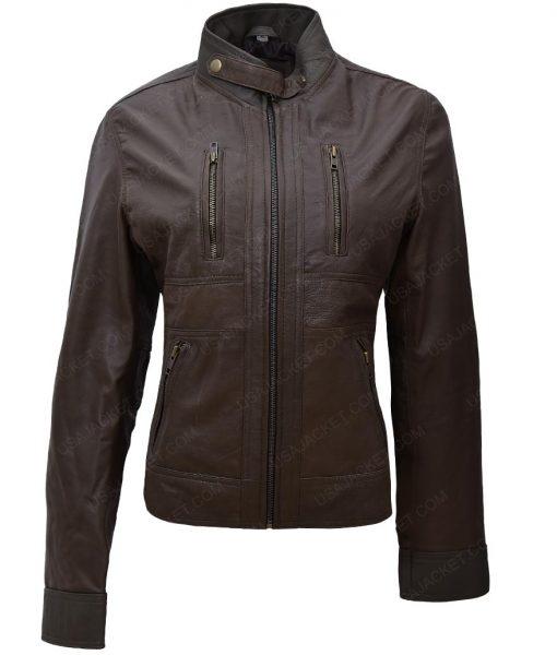 Womens-Olive-Fringe-Season-5-Georgina-Haig-Green-Jacket-510x600