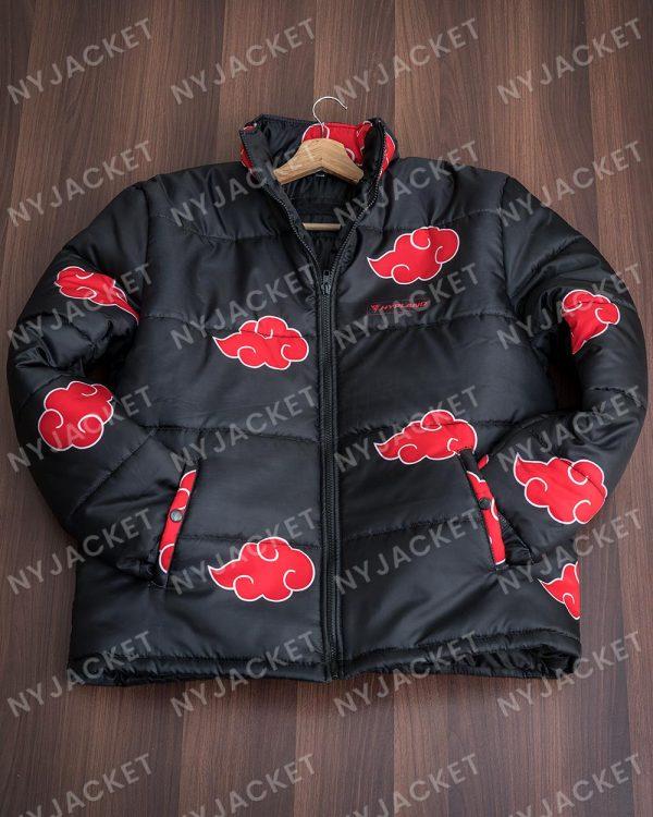 Naruto Akatsuki PufferBlack Jacket
