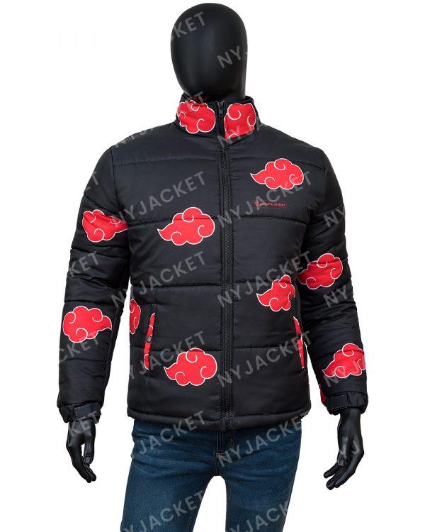 NarutoAkatsuki Puffer Jacket