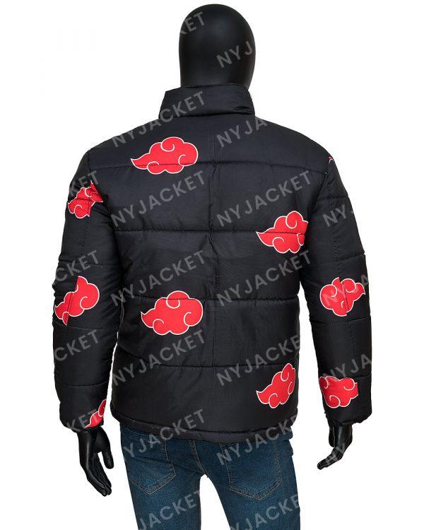 NarutoAkatsukiPuffer Jacket