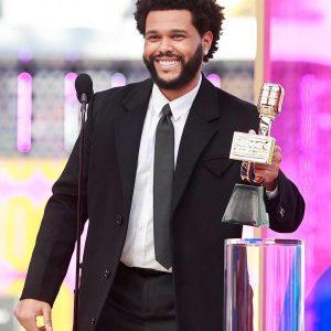 Billboard-Music-Awards-2021-The-Weeknd-Black-Wool-Coat-Free-Shipping