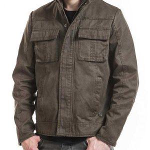 Uncharted 4 Nathan Drake Grey Jacket