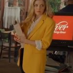 A-Little-Daytime-Drama-Jen-Lilley-Yellow-Blazer