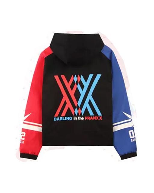 Darling In The Franxx Zero Two Hoodie Jacket