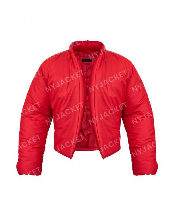 Kanye West DONDA Yezzy Gap Red Round Jacket