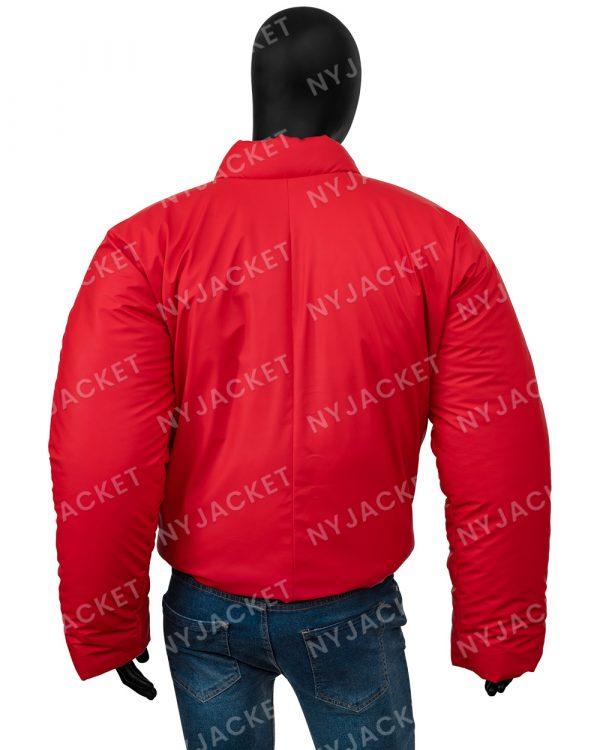 Kanye West DONDA YezzyGap Red Round Jacket