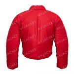 KanyeWest DONDA YezzyGap Red Round Jacket