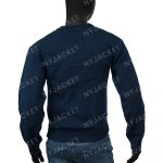 Ted Lasso S02 Jason Sudeikis Blue Sweater For Men