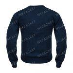 Ted Lasso S02 Jason Sudeikis Blue Woolen Sweater