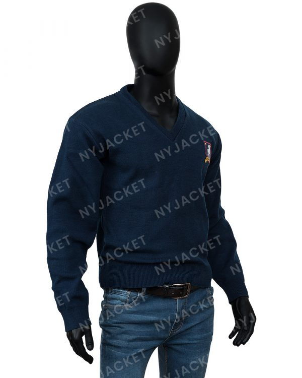 Ted Lasso S02 Jason Sudeikis Woolen Sweater For Men