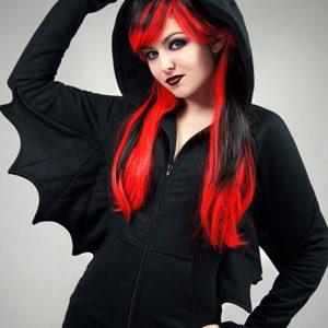 Batman Black HoodieWith Wings (1)