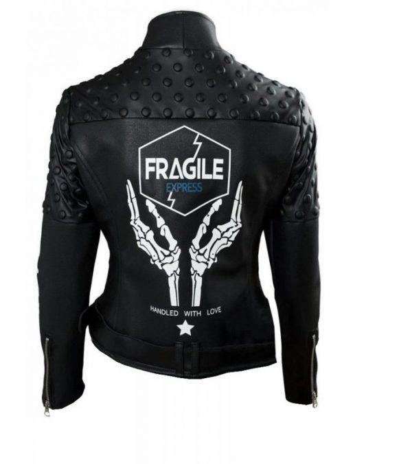 Death Stranding Fragile Express Léa Seydoux Black Jacket
