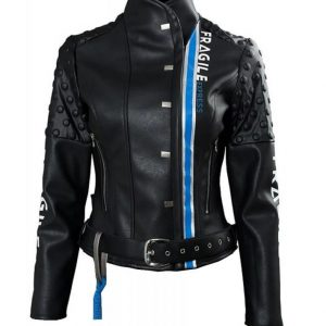 Death Stranding Fragile Express Léa Seydoux Leather Jacket