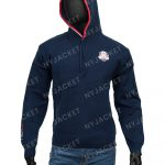 Ryder Cup Hooded Blue Stylish Sweater