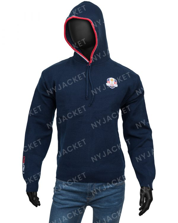 Ryder Cup Hooded Blue Classy Sweater