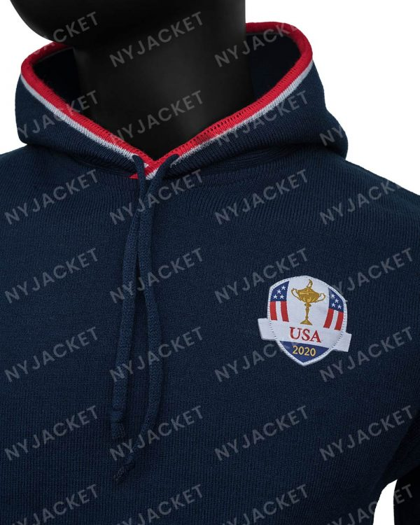 Ryder Cup HoodedBlue Sweater