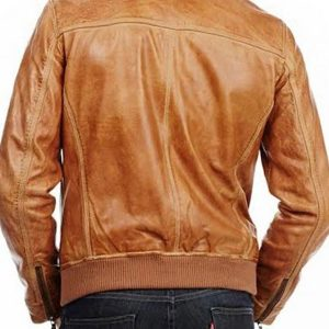 Tommy Merlyn Arrow Brown Leather Jacket