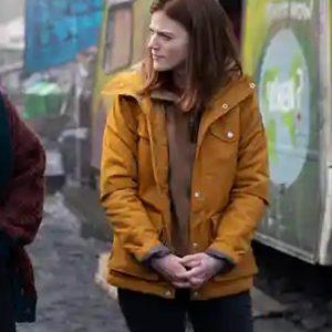 Rose-Leslie-Vigil-Season-1-Kirsten-Longacre-Yellow-Jacket