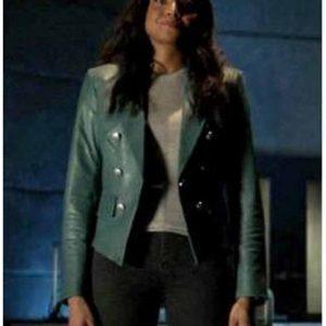 Batwoman-Season-02-Sophie-Moore-Blue-Leather-Jacket