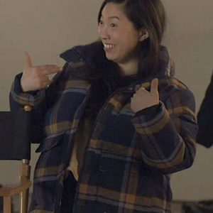 TV-Series-Awkwafina-is-Nora-From-Queens-Plaid-Jacket