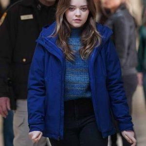 jade-pettyjohn-tv-series-big-sky-grace-sullivan-blue-cotton-jacket